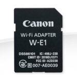 Adaptador - Canon W-E1 Wi-Fi