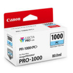 Cartucho Tinta - Canon PFI-1000 PC 80 ml Cian Claro