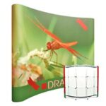 Display Pop-Up Magnetico Curvo 210x230