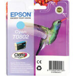 Cartucho Tinta - Epson Stylus Photo R265 Cian