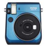 Camara Instantanea - Fuji Instax MINI 70 Azul + Funda