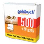 Adhesivo en puntos - Goldbuch doble cara 1 Rollo x 500 u.