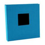 Album de Pegar - Goldbuch 30x31 cm  Bella Vista Turquesa 60 hojas negras