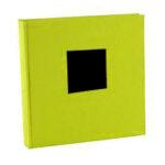 Album de Pegar - Goldbuch 30x31 cm  Bella Vista Verde 60 hojas negras