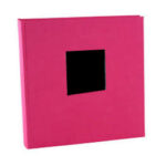 Album de Pegar - Goldbuch 30x31 cm  Bella Vista Rosa 60 hojas negras