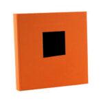 Album de Pegar - Goldbuch 30x31 cm  Bella Vista 60 Naranja hojas negras