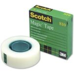 Adhesivo en Cinta 3M Scotch Magic Invisible 33mtsx19mm