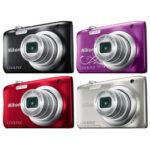 Camara Compacta - Nikon Coolpix A100 Negra Kit
