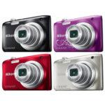 Camara Compacta - Nikon Coolpix A100 Plata Kit