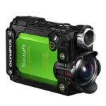 Camara Compacta - Olympus TG-Tracker Verde Sumergible 30 mts