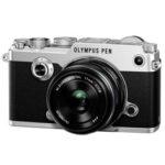 Camara Evil - Olympus PEN-F Plata con Zuiko 17mm F1.8 Negro