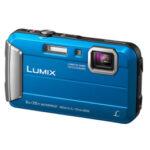 Camara Compacta - Panasonic Lumix FT30 Azul Sumergible 8 mts