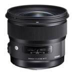 Objetivo - Sigma Canon     24mm F1.4  DG  HSM ART