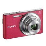 Camara Compacta - Sony DSC-W830 Kit Rosa