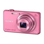 Camara Compacta - Sony DSC-WX220P Rosa
