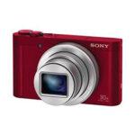 Camara Compacta - Sony DSC-WX500 Roja